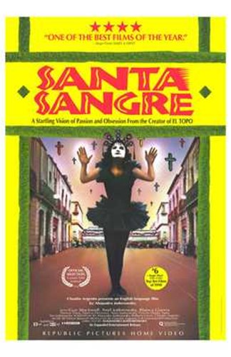 Santa Sangre Poster by Unknown for $26.25 CAD