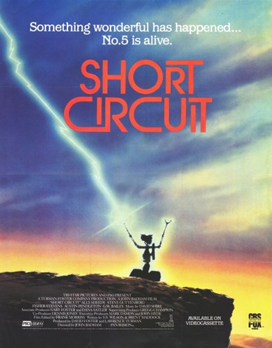 Short Circuit No. 5 Poster by Unknown for $26.25 CAD