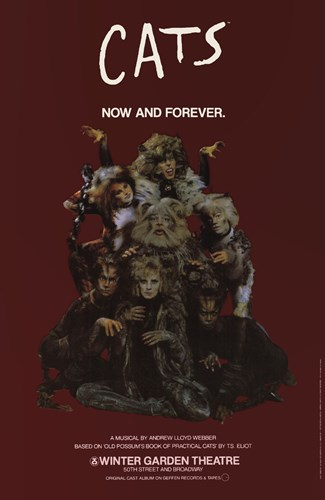 Cats (Broadway) - style B Poster by Unknown for $26.25 CAD