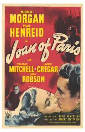 Joan of Paris Poster by Unknown for $26.25 CAD