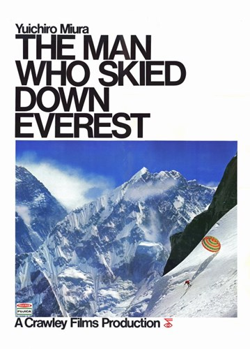 The Man Who Skied Down Everest Poster by Unknown for $26.25 CAD