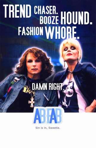 Absolutely Fabulous BBC Sitcom Poster by Unknown for $26.25 CAD