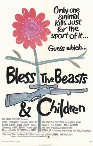 Bless the Beasts and Children Movie Poster by Unknown for $26.25 CAD