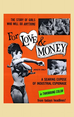 for Love and Money Poster by Unknown for $26.25 CAD