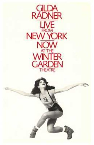 Gilda Radner - Live from New York (Broadway) Poster by Unknown for $26.25 CAD
