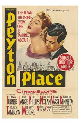 Peyton Place Poster by Unknown for $26.25 CAD