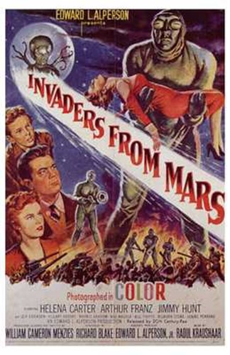 Invaders from Mars Poster by Unknown for $26.25 CAD
