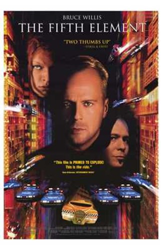The Fifth Element Bruce Willis Poster by Unknown for $26.25 CAD