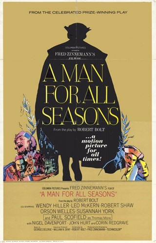 A Man for All Seasons Poster by Unknown for $26.25 CAD