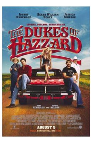 The Dukes of Hazzard Poster by Unknown for $26.25 CAD