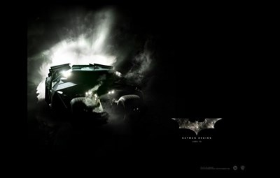 Batman Begins Batmobile Poster by Unknown for $26.25 CAD