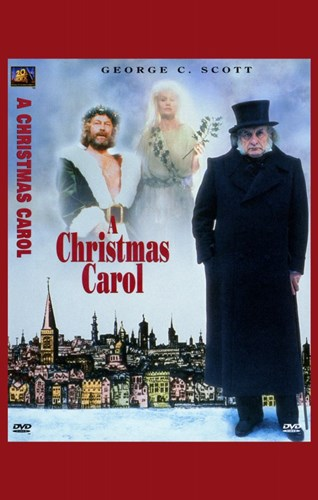 A Christmas Carol George C. Scott Poster by Unknown for $26.25 CAD