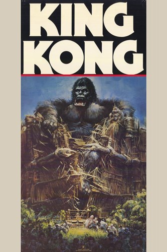 King Kong Crushing Train I Poster by Unknown for $26.25 CAD