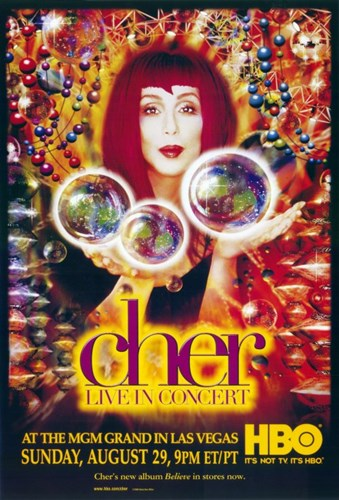 Cher: Live in Concert Poster by Unknown for $26.25 CAD