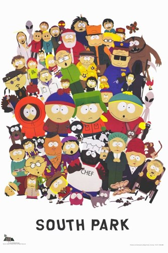 South Park - style A Poster by Unknown for $26.25 CAD