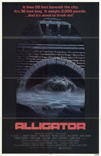 Alligator - movie poster Poster by Unknown for $26.25 CAD