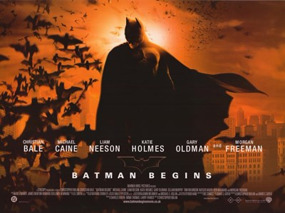 Batman Begins Sunrise Horizontal Poster by Unknown for $26.25 CAD