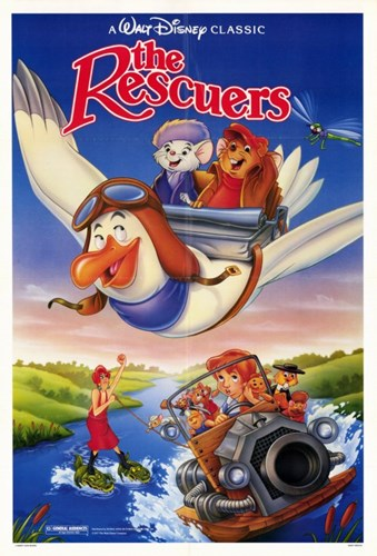 The Rescuers - Flying Poster by Unknown for $26.25 CAD