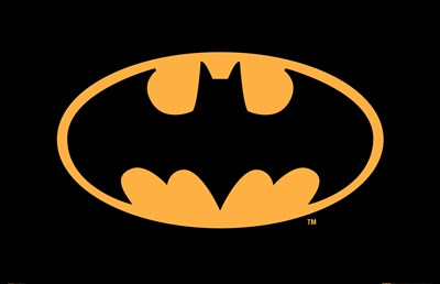Batman Logo Poster by Unknown for $26.25 CAD