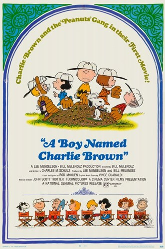 A Boy Named Charlie Brown Poster by Unknown for $26.25 CAD