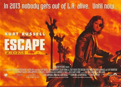 Escape From L.A. Poster by Unknown for $26.25 CAD