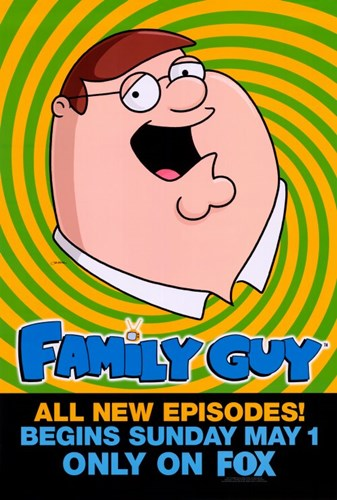 Family Guy Peter Griffin Poster by Unknown for $26.25 CAD