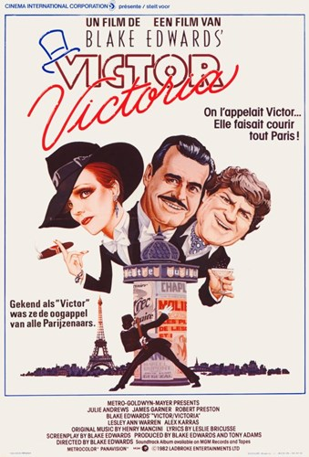 Victor/Victoria Poster by Unknown for $26.25 CAD