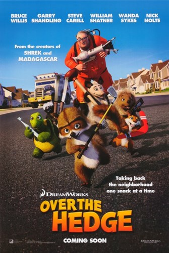 Over the Hedge Poster by Unknown for $26.25 CAD