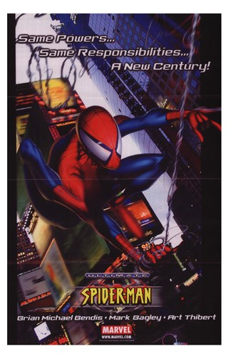 Ultimate Spiderman Poster by Unknown for $26.25 CAD