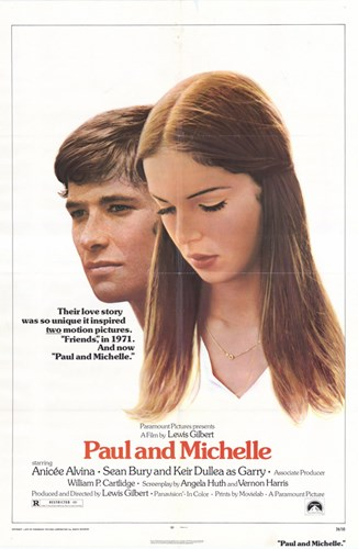 Paul and Michelle Poster by Unknown for $26.25 CAD