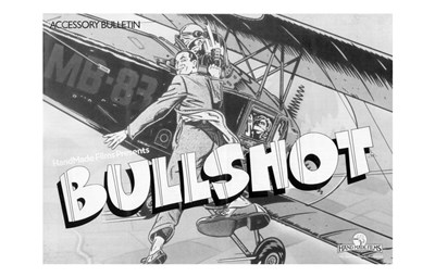 Bullshot Movie Poster Poster by Unknown for $26.25 CAD