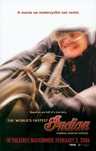 The World's Fastest Indian - Riding a Cycle Poster by Unknown for $26.25 CAD
