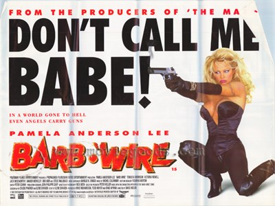 Barb Wire - style C Poster by Unknown for $26.25 CAD