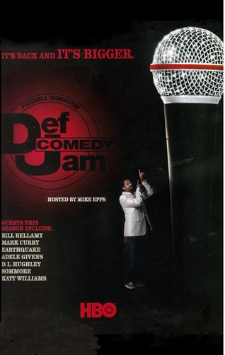 Def Comedy Jam Poster by Unknown for $26.25 CAD