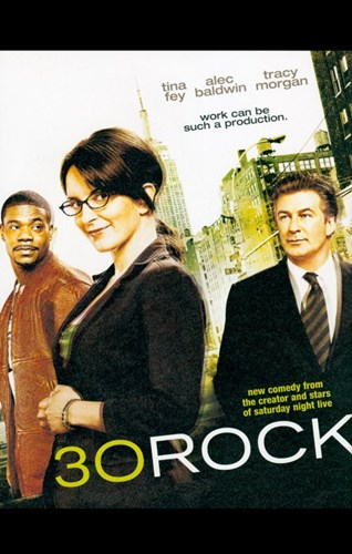 30 Rock Poster by Unknown for $26.25 CAD