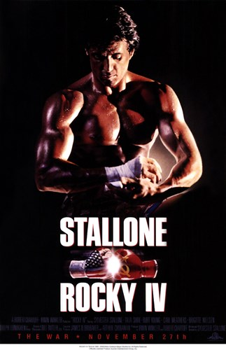Rocky 4 Sylvester Stallone Poster by Unknown for $26.25 CAD