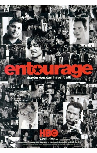 Entourage, style J Poster by Unknown for $26.25 CAD