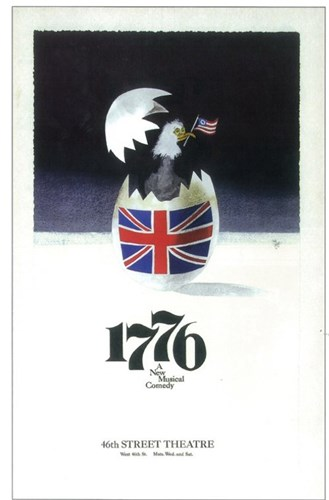 1776 (Broadway) Poster by Unknown for $26.25 CAD