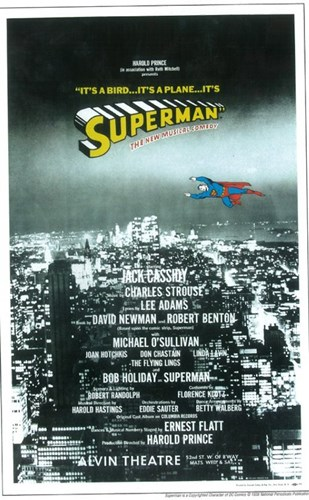 Superman (Broadway) Poster by Unknown for $26.25 CAD