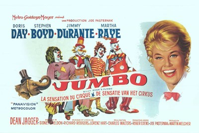 Jumbo Doris Day Poster by Unknown for $26.25 CAD