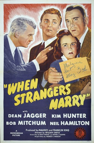 When Strangers Marry Poster by Unknown for $26.25 CAD