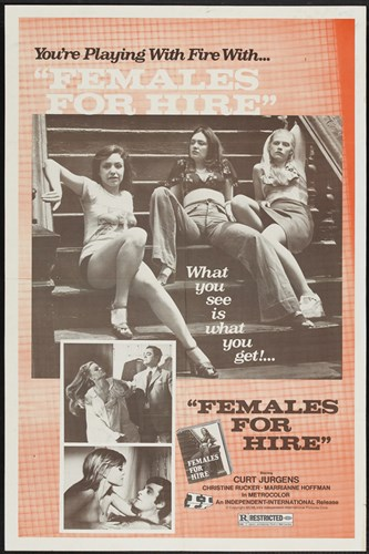 Females for Hire Poster by Unknown for $26.25 CAD