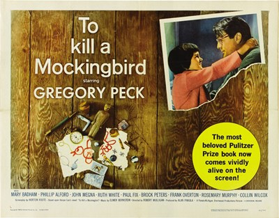 To Kill a Mockingbird Pulizer Prize Book Poster by Unknown for $26.25 CAD