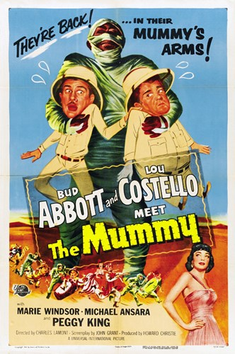 Abbott and Costello Meet the Mummy, c.1955 Poster by Unknown for $26.25 CAD
