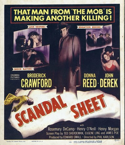 Scandal Sheet Poster by Unknown for $26.25 CAD