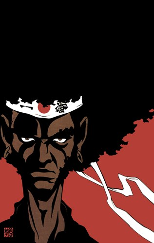 Afro Samurai Poster by Unknown for $26.25 CAD