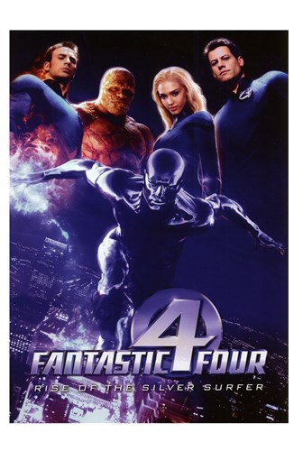 Rise of the Silver Surfer Fantastic Four Poster by Unknown for $26.25 CAD