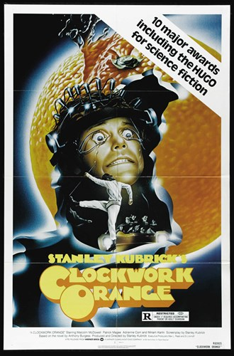 A Clockwork Orange Crazy Poster by Unknown for $26.25 CAD