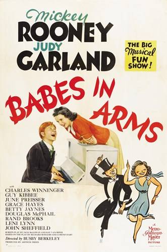 Babes in Arms Poster by Unknown for $26.25 CAD