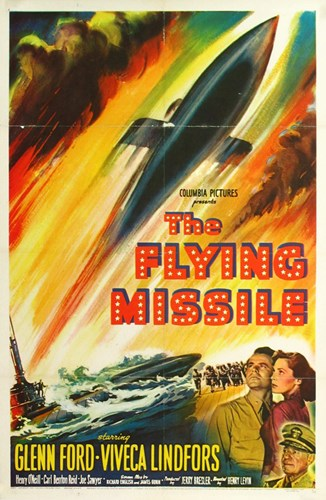 The Flying Missile Poster by Unknown for $26.25 CAD